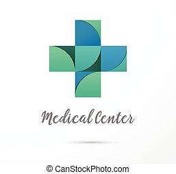 healthcare, medyczny, krzyż, ikona, apteka