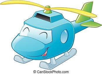 helikopter, rysunek