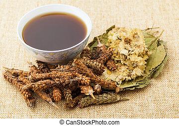 herbal medycyna, chiński składnik