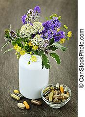 herbal medycyna, rośliny