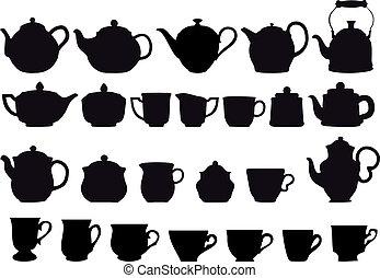 herbata, coffe