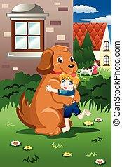 ich, dzieciaki, interpretacja, psy