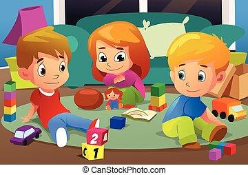 ich, dzieciaki, interpretacja, zabawki