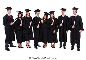 ich, grupa, dyplomy, student, absolwenci