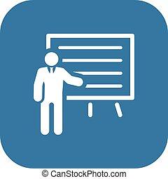 icon., pojęcie, prezentacja, handlowy