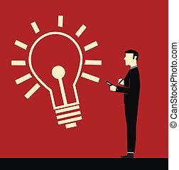 idea, biznesmen