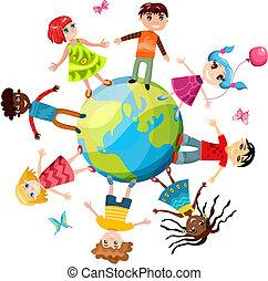 ih, dzieci, świat