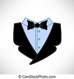 ikona, garnitur, handlowy