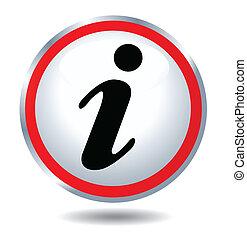 ikona, informacja