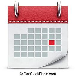 ikona, kalendarz
