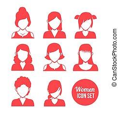 ikona, kobiety