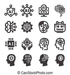 ikona, sztuczna inteligencja