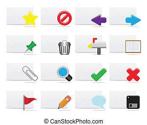 ikony, e-poczta