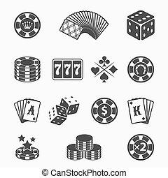ikony, hazard