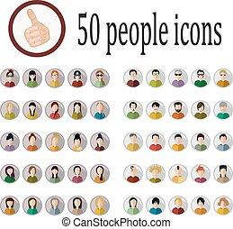ikony, ludzie, 50