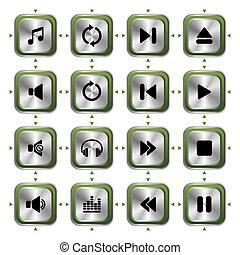 ikony, muzyka, komplet