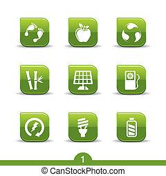 ikony, no.1..smooth, ekologia, seria