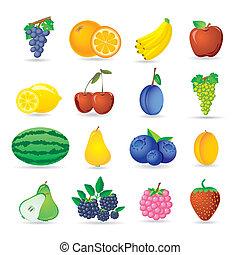 ikony, owoc