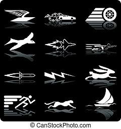 ikony, szybkość
