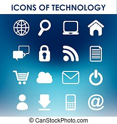 ikony, technologia