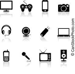 ikony technologii