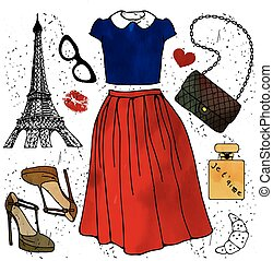 illustration., fason