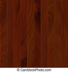 ilustracja, albo, drewno, brązowy, podłoga, texture., powierzchnia, drewniany, tło, budulec, wallpaper., wall., wektor