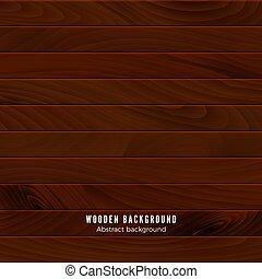 ilustracja, albo, drewno, brązowy, tło., podłoga, texture., powierzchnia, drewniany, budulec, wall., wektor