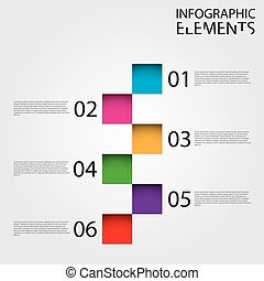 infographic, nowoczesny, wykres, ilustracja
