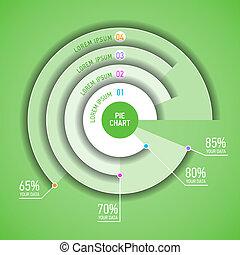 infographic, sroka, szablon, wykres