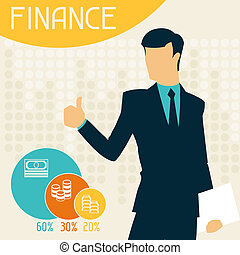 infographics., finanse