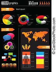 infomation, elementy, handlowy