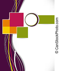 instalator, handlowy, abstrakcyjny, template., tło., lotnik, broszura, albo