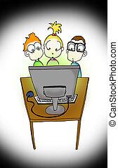 intekids, komputer