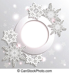 iskrzasty, gwiazda, boże narodzenie, tło, płatek śniegu
