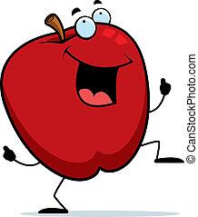 jabłko, taniec
