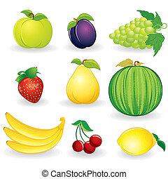 jagody, fruts