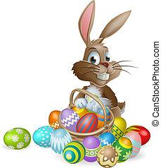 jajko, wielkanocna trusia, królik