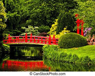 japoński ogród