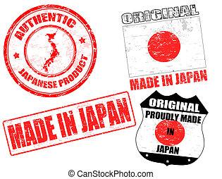 japonia, pieczęcie, robiony