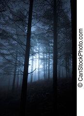jarzący się, las