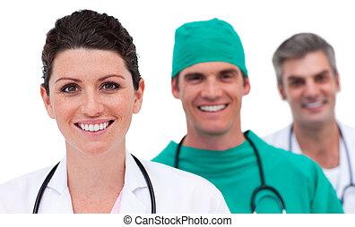 jasny, medyczny zaprzęg, portret