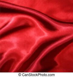 jedwab, wektor, budowla, czerwony, texture.