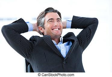jego, o, powodzenie, samiec, śmiech, wykonawca, myślenie