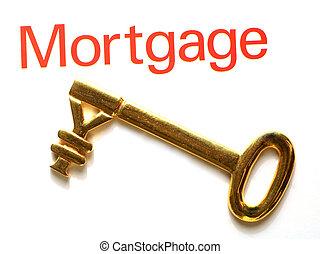 jen, złoty, hipoteka, klucz