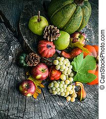jesień, owoc