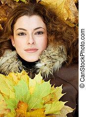 jesienny, portait