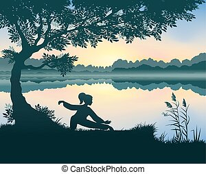 jezioro, chi, tai