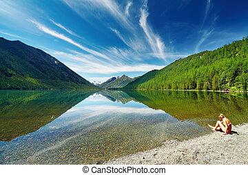 jezioro, góra
