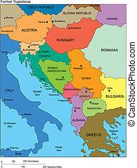 jugosławia, kraje, dawny, nazwiska